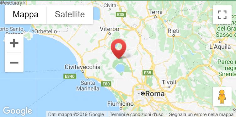 posizione su Google Maps dell'allevamento barboncini Maatilayla